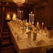 Dromoland_dinner_table