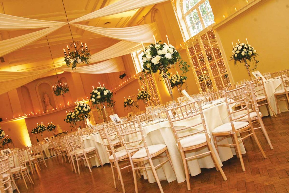 Wedding and event ceiling drapery party decor for Wedding room accessories