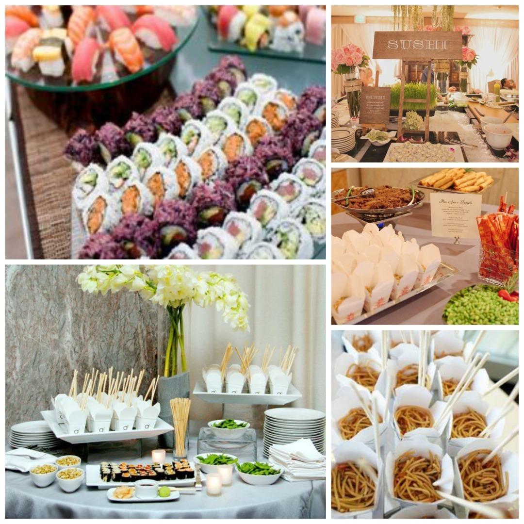 Wedding Reception Food Station Ideas: Wedding Food Stations