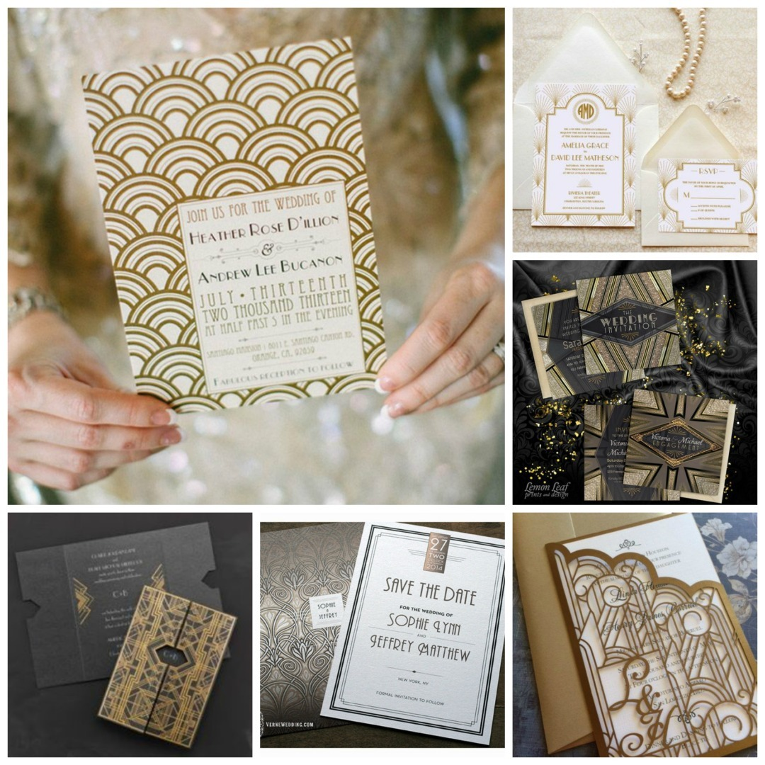 Great Gatsby Themed Wedding Perfect Details