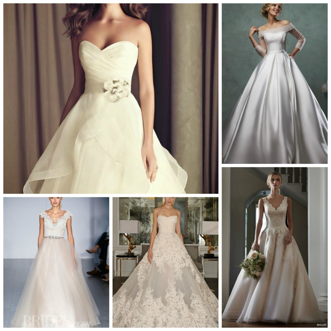 Non White Wedding Dresses
