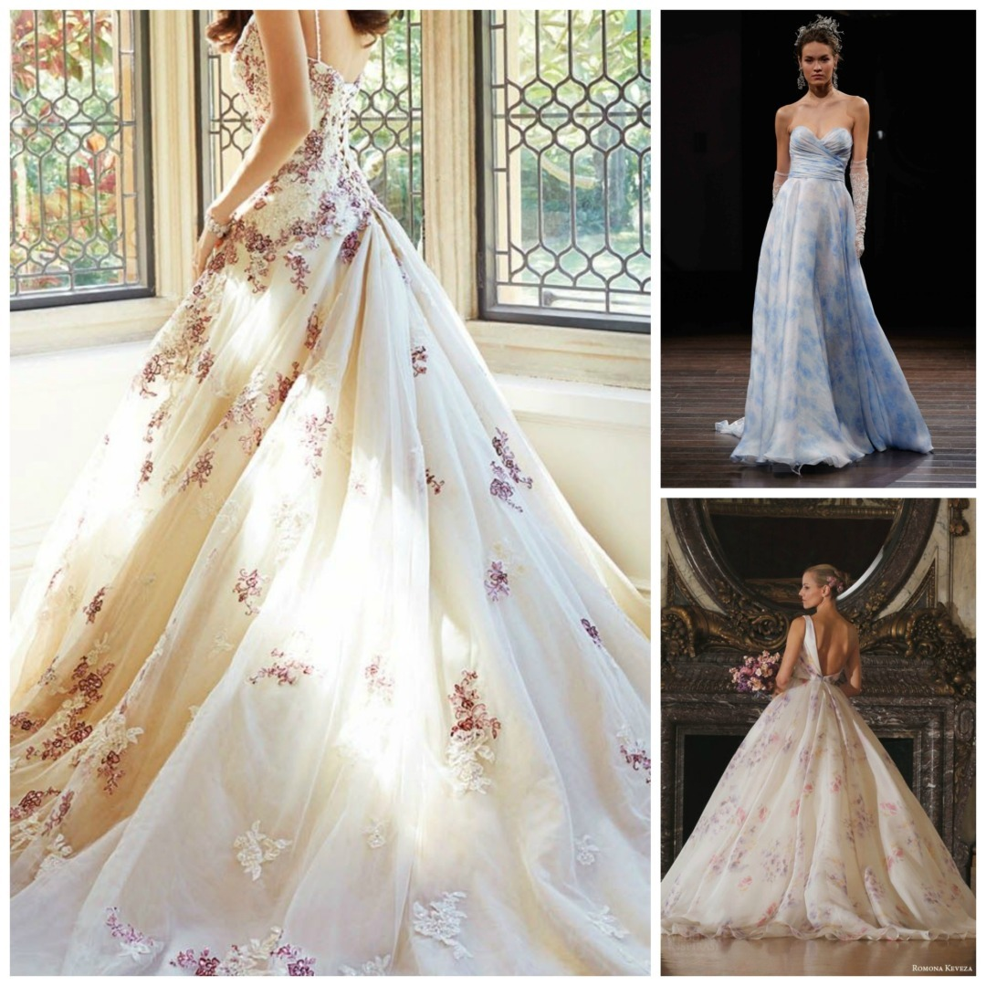 Non White Wedding Dresses - Perfect Details