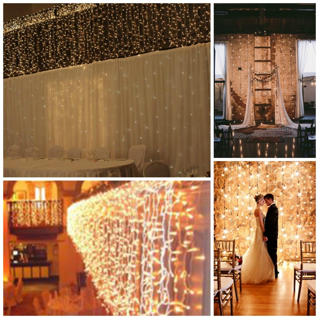 Large Feature Wall Lights : Celebrity Wedding Planner Ireland - Kate Deegan
