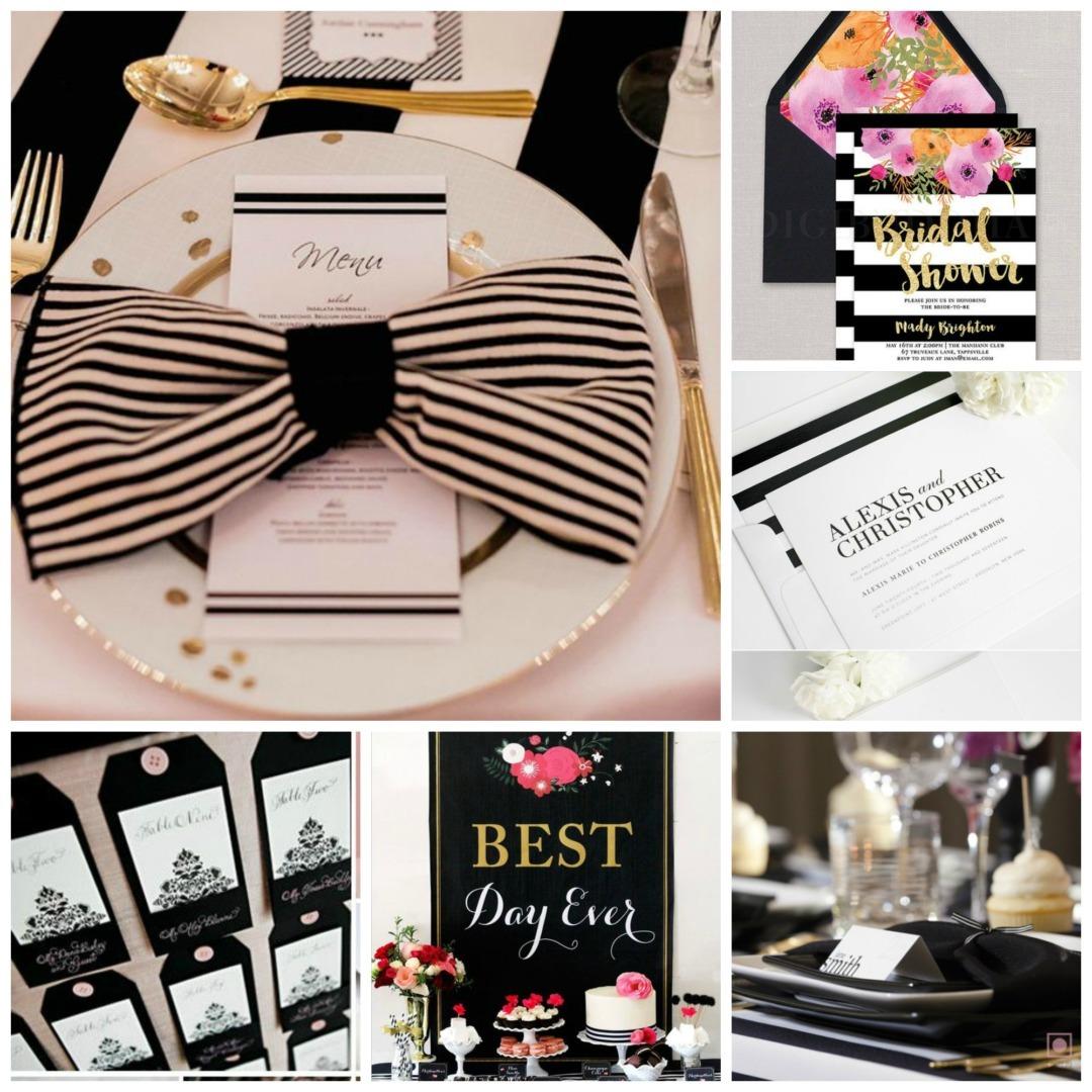 Monochrome Wedding Decor Archives Perfect Details