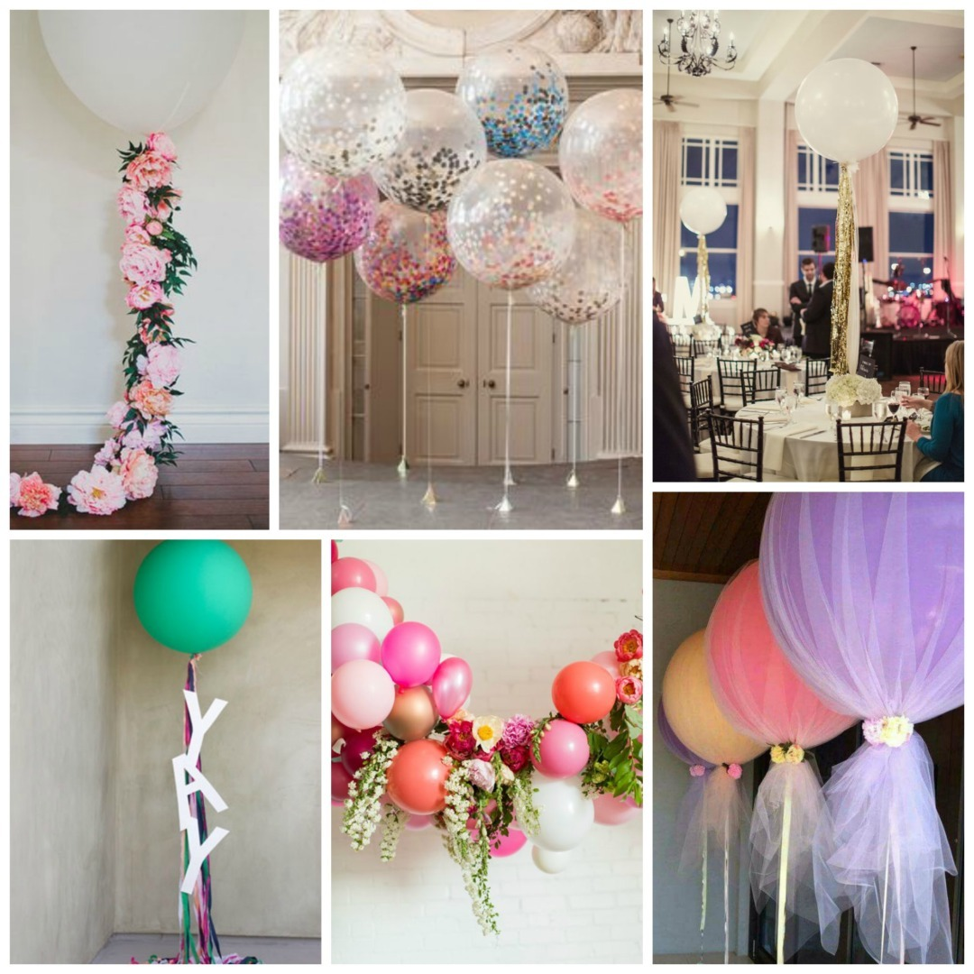 94 room decoration with flowers and balloons balloon for Wedding day room decoration