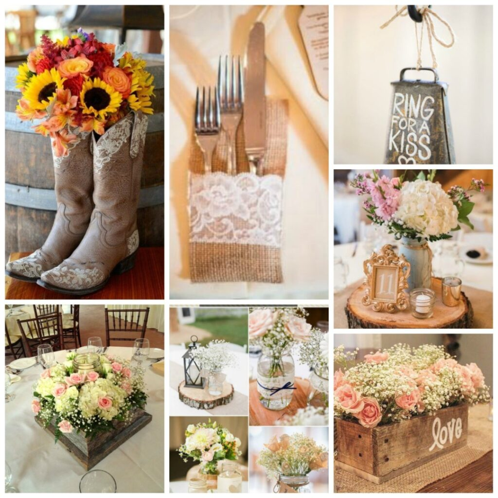 centrepieces and table decor