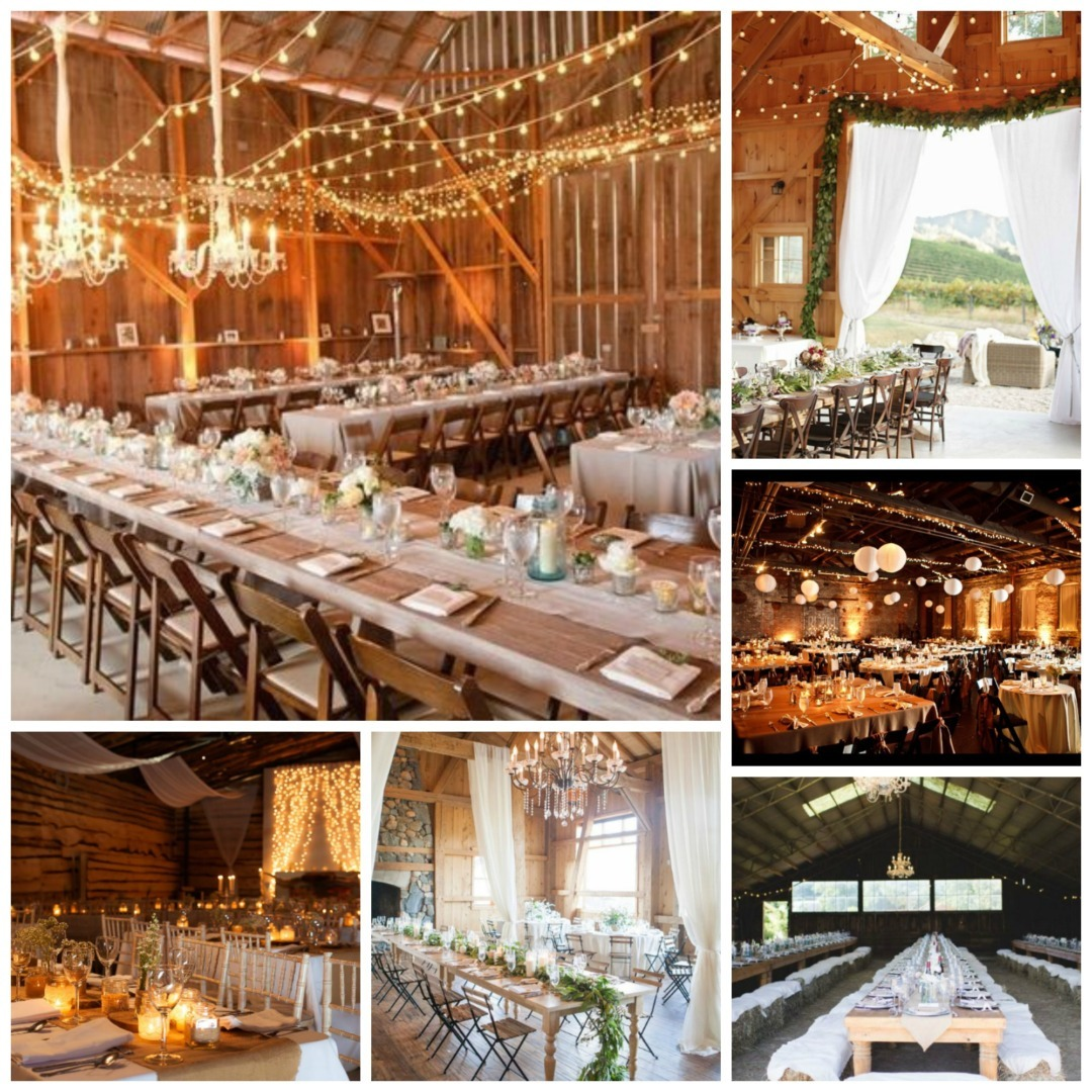 Barn Style Wedding Theme Perfect Details