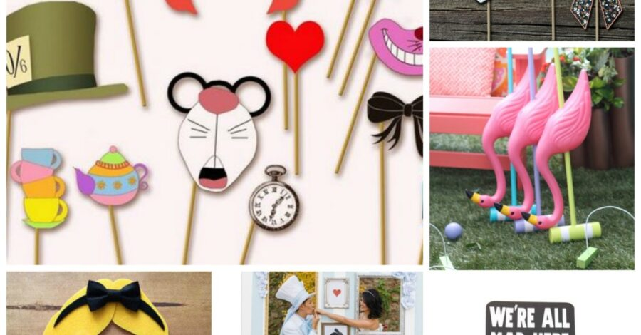 abbastanza Alice in Wonderland Wedding Theme - Perfect Details OP63