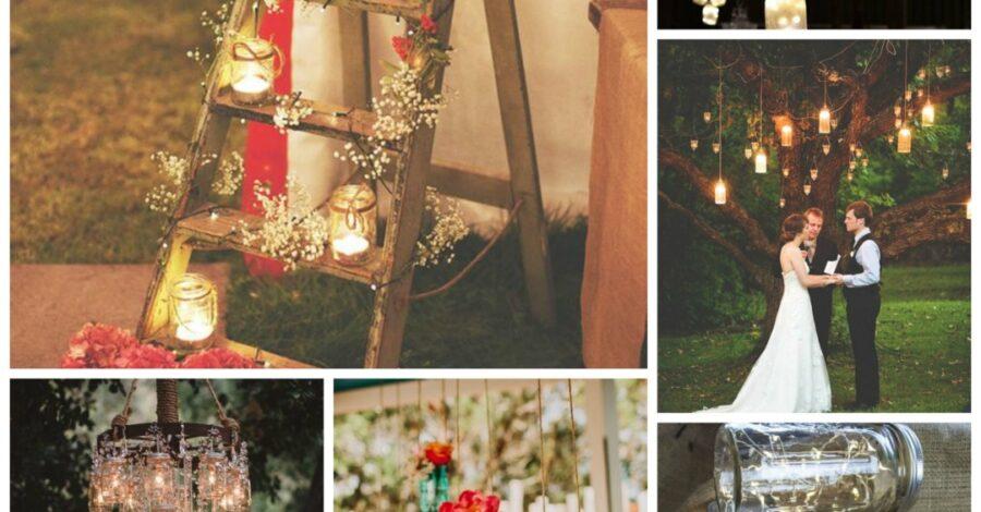 Mason Jar Wedding Ideas - Perfect Details
