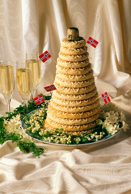 Norwegian Wedding Isn T A Traditional Cake It Is Made Of Bread And Topped With Mixture Cheese Cream Syrup The Dessert Then Folded Over