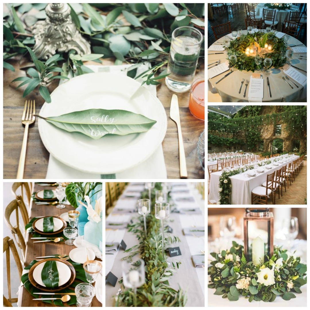 Greenery archives perfect details table decor junglespirit Choice Image