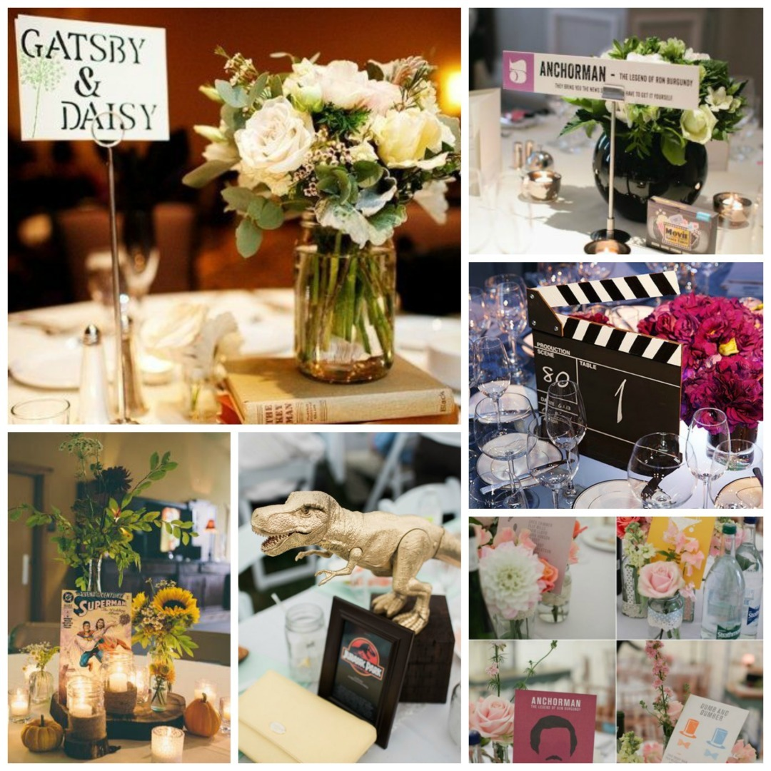 Ideas For Wedding Table Names