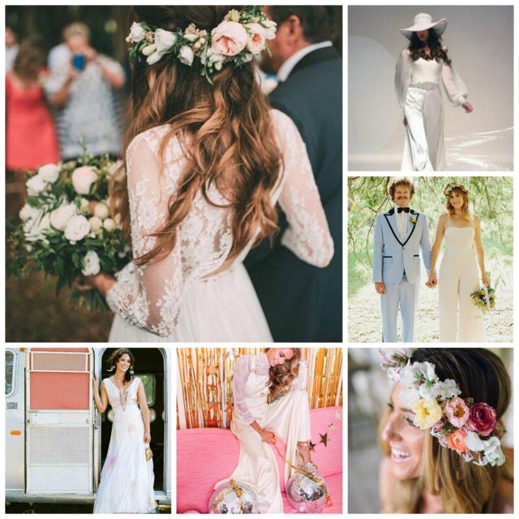 70s Boho Wedding Theme Perfect Details