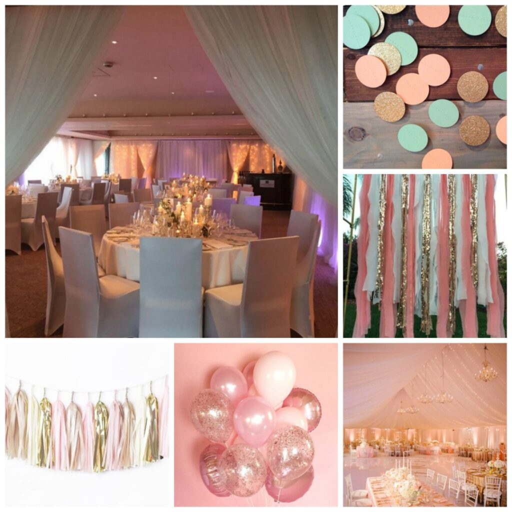 Pink And Gold Wedding Theme Perfect Details