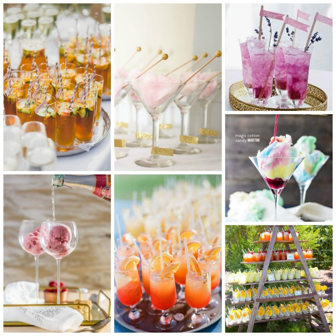 Wedding Drinks Ideas: Creative Wedding Reception Drinks Ideas