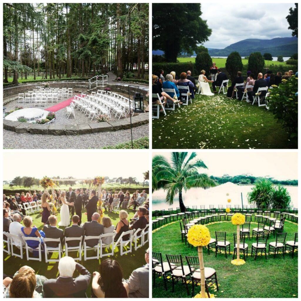 how to have an outdoor wedding in ireland perfect details