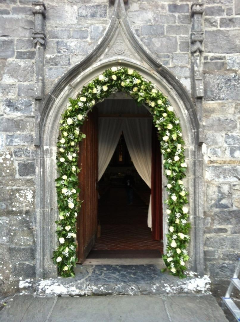 White Carpet Wedding Aisle