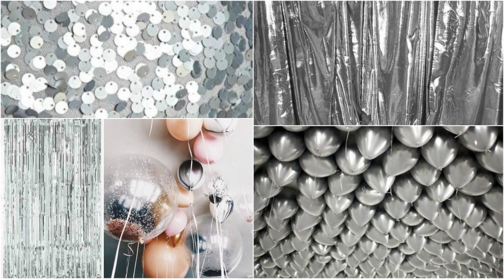 Silver and Chrome Wedding Theme Perfect Details