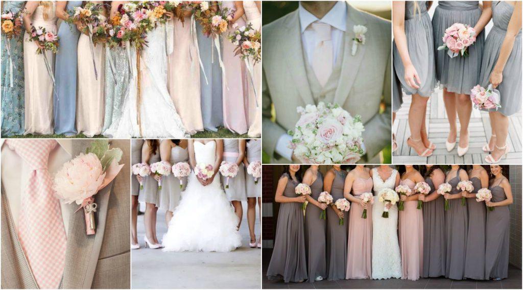 Pink & Grey Wedding Theme - Perfect Details