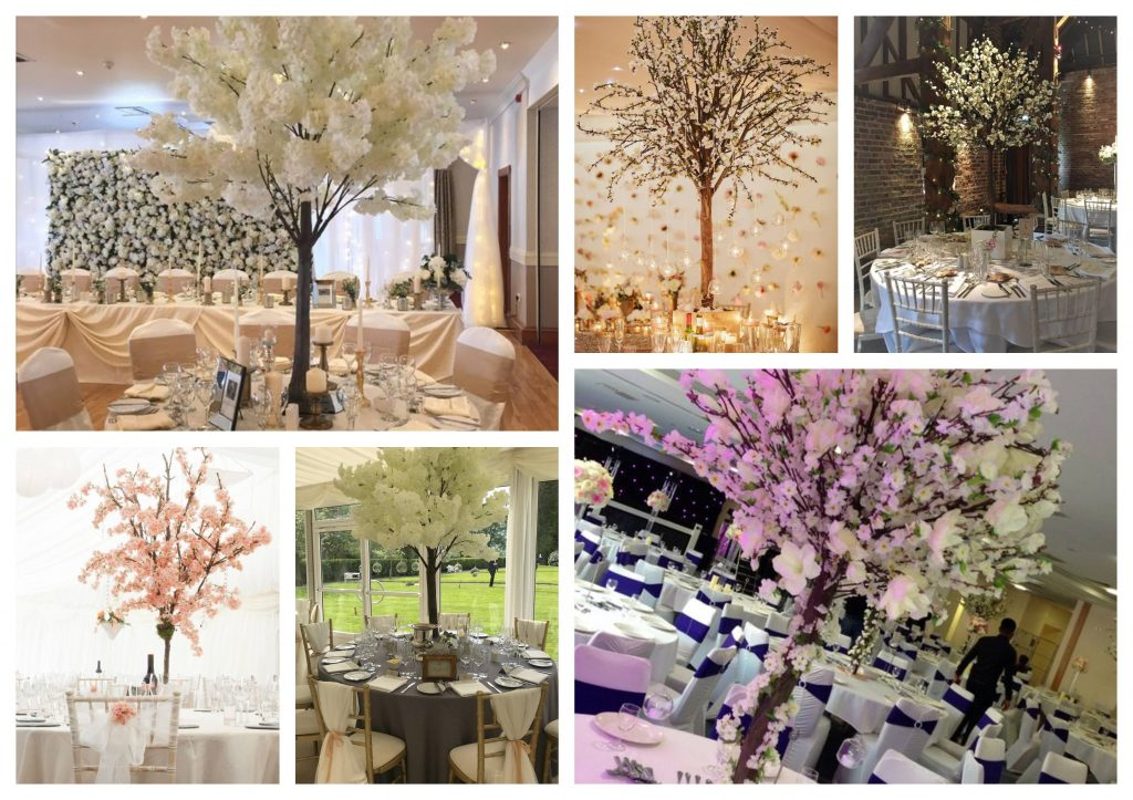 Wedding furniture hire event furniture hire parties ireland full of blooms that are typically pink or shades of white these trees look absolutely stunning as centrepieces often they need very little dressing up junglespirit Images