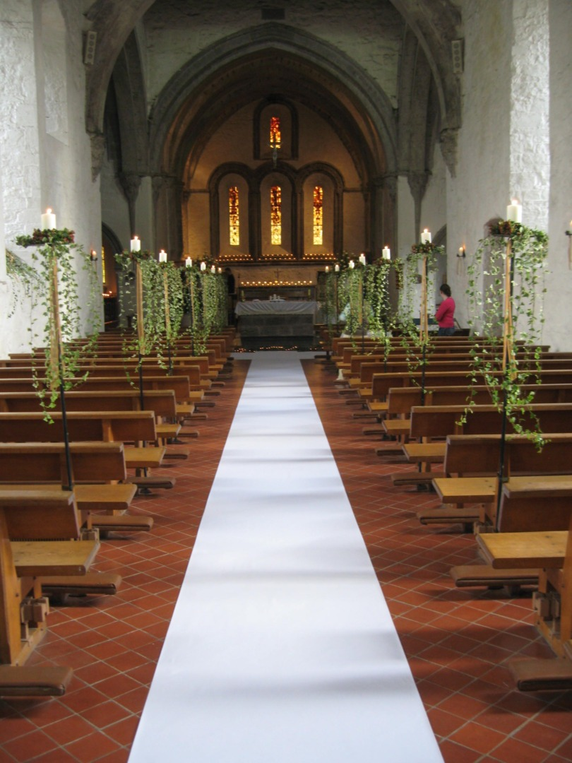 Aisle runner - Ivory - Perfect Details