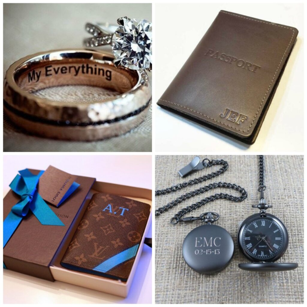 personalised groom