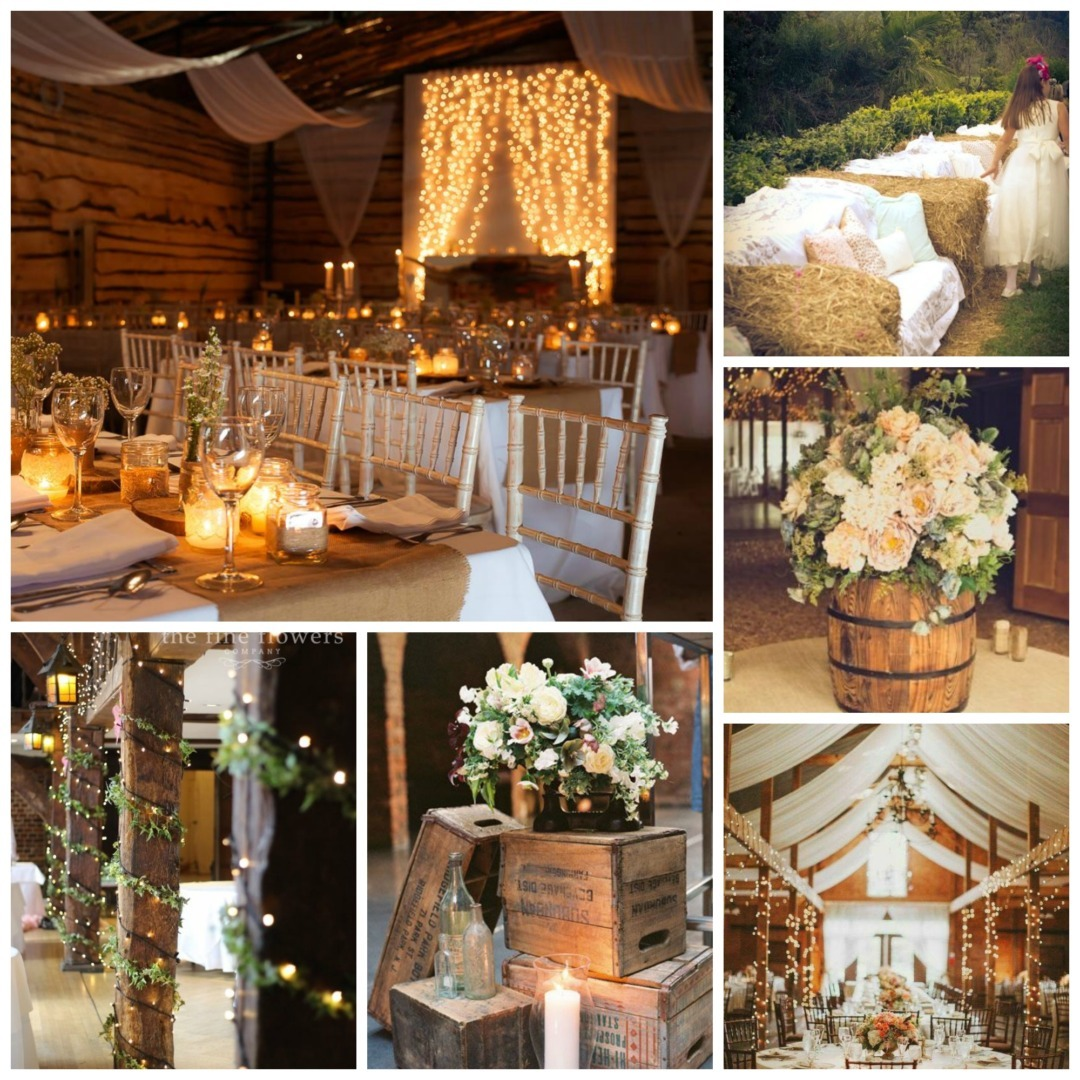 Barn Style Wedding Theme - Perfect Details