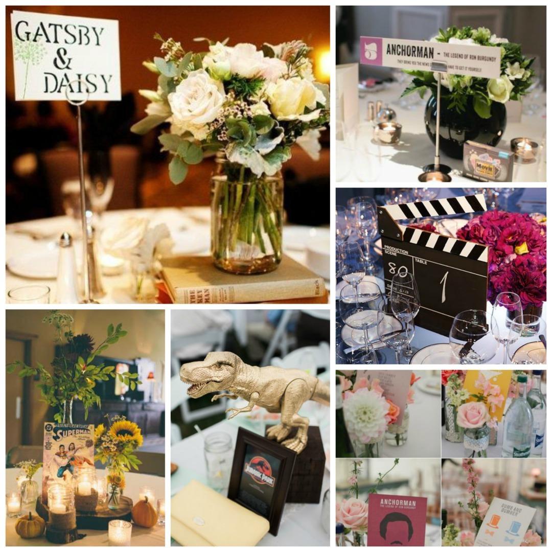 Ideas For Wedding Table Names: Wedding Table Name Ideas